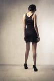 Belleza en negro Imagen de archivo libre de regalías
