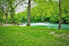 Belleza en parques de estado de Missouri fotografía de archivo