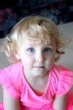 Belleza eyed azul Foto de archivo