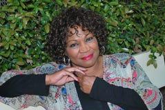Belleza femenina afroamericana foto de archivo