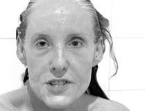 Belleza femenina atractiva Imagen de archivo libre de regalías