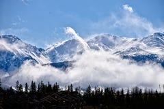 Belleza grande del tiempo de la nieve Imágenes de archivo libres de regalías