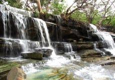 Belleza imponente de la cascada y de la naturaleza, la India Imagen de archivo