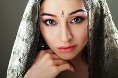 Belleza india Fotos de archivo libres de regalías
