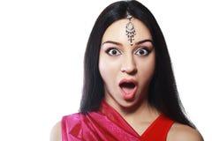 Belleza india Imágenes de archivo libres de regalías