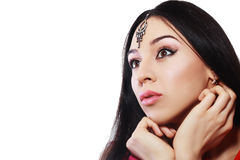 Belleza india Imagen de archivo libre de regalías