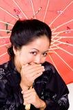 Belleza japonesa Imagen de archivo