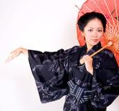 Belleza japonesa Imagen de archivo libre de regalías