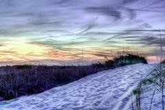 Belleza más allá de las dunas Foto de archivo