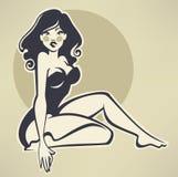 Belleza modela libre illustration