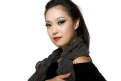 Belleza Mujer-Tailandesa modelo asiática de la pertenencia étnica Foto de archivo libre de regalías