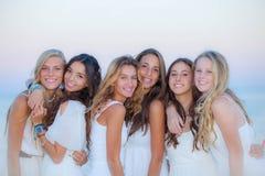 Belleza natural de las muchachas adolescentes Foto de archivo