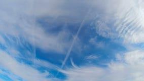 Belleza natural del cielo pacífico idílico almacen de metraje de vídeo