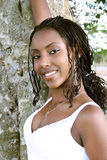 Belleza negra 1 Imagen de archivo libre de regalías