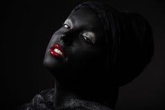 Belleza negra fotos de archivo