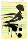 Belleza negra Foto de archivo libre de regalías
