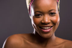 Belleza negra joven Imágenes de archivo libres de regalías