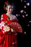 Belleza oriental atractiva fotografía de archivo