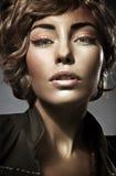 Belleza rubia joven Imagen de archivo libre de regalías