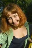 Belleza sonriente Fotos de archivo