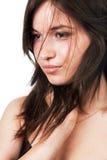 Belleza tirada de mujer joven pura Imagen de archivo