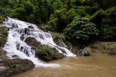 Belleza y cascada pacífica Fotografía de archivo
