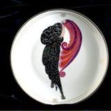 Belleza y cuadrado de Erte de la bestia Imagen de archivo libre de regalías