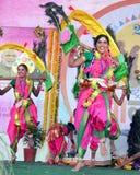 Bellezas culturales de la India Foto de archivo libre de regalías