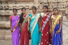 Bellezas indias jovenes Fotos de archivo