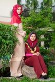 Bellezas musulmanes Fotografía de archivo libre de regalías