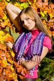 Bellezza 21 di autunno Fotografie Stock Libere da Diritti