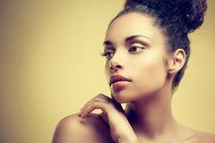 Bellezza africana Fotografia Stock Libera da Diritti