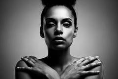 Bellezza africana Fotografia Stock