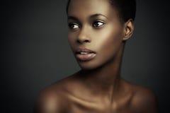 Bellezza africana Fotografie Stock