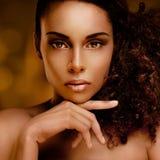 Bellezza africana Immagini Stock
