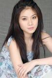 Bellezza asiatica Immagine Stock Libera da Diritti
