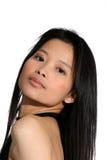 Bellezza asiatica Fotografia Stock Libera da Diritti