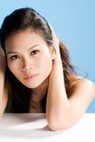 Bellezza asiatica Fotografia Stock