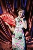 Bellezza asiatica 1 Fotografie Stock Libere da Diritti