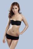 Bellezza asiatica, modello sexy della donna Fotografia Stock Libera da Diritti