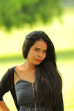 Bellezza asiatica teenager indonesiana esotica Immagine Stock Libera da Diritti