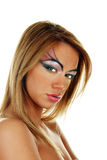 Bellezza bionda femminile attraente Immagine Stock