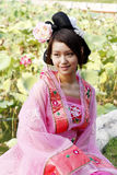 Bellezza classica in Cina. Immagine Stock