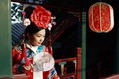 Bellezza classica in Cina. Immagini Stock Libere da Diritti