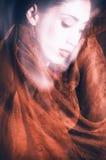 Bellezza con il velare Fotografie Stock