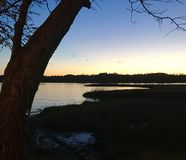 Bellezza costiera della Nord Carolina Immagini Stock Libere da Diritti