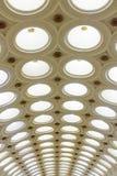 Bellezza degli arché della metropolitana di Mosca Fotografie Stock