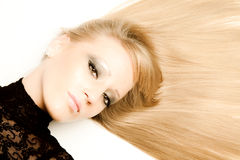 Bellezza dei capelli immagini stock