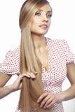 Bellezza dei capelli immagine stock