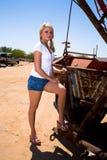 Bellezza del camion di rimorchio immagini stock libere da diritti